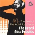 THE BRAND NEW HEAVIES The Best of the Acid Jazz Years album cover