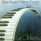 BRIAN AUGER Live Oblivion Vol. 1 (as Brian Auger's Oblivion Express) album cover