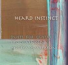 BRUCE ARNOLD Bruce Arnold & Andrea Quartarone : Heard Instinct album cover