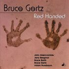 BRUCE GERTZ Red Handed album cover