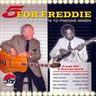 BUCKY PIZZARELLI 5 for Freddie: Bucky's Tribute to Freddie Green album cover