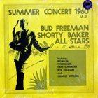 BUD FREEMAN Summer Concert 1960 album cover