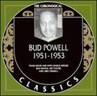 BUD POWELL The Chronological Classics: Bud Powell 1951-1953 album cover