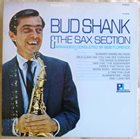BUD SHANK Bud Shank and the Sax Section album cover