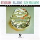 BUD SHANK Crystal Comments album cover