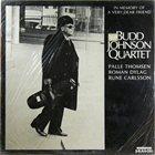 BUDD JOHNSON In Memory Of A Very Dear Friend album cover