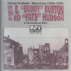 BUDDY BURTON Chicago Southside-Blues & Jazz: 1928-1936 album cover