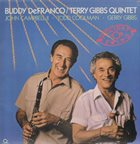 BUDDY DEFRANCO Buddy De Franco / Terry Gibbs Quintet ‎: Holiday For Swing album cover
