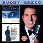 BUDDY GRECO Buddy and Soul/My Last Night in Rome album cover