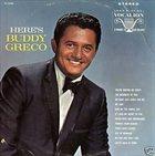 BUDDY GRECO Here's Buddy Greco album cover