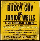 BUDDY GUY Buddy Guy & Junior Wells ‎: Every Day I Have The Blues (Live) (aka Live At The Mystery Club aka Chicago Blues Festival 1964) album cover