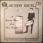 BUDDY RICH A Young Man And His Drums album cover