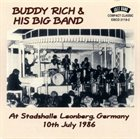 BUDDY RICH At Stadshalle Leonberg, Germany 10th July 1986 album cover
