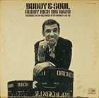BUDDY RICH Buddy & Soul album cover