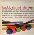 BUDDY RICH Buddy Rich At JATP album cover