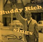BUDDY RICH Buddy Rich Just Sings album cover