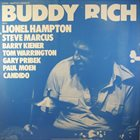 BUDDY RICH Buddy Rich Presented by Lionel Hampton album cover