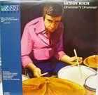 BUDDY RICH Drummer's Drummer album cover