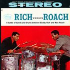 BUDDY RICH Rich Versus Roach album cover