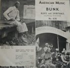 BUNK JOHNSON Bunk Plays The Blues And Spirituals album cover