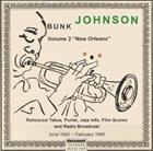 "BUNK JOHNSON Volume 2 ""New Orleans"" album cover"