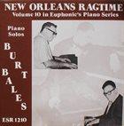 BURT BALES New Orleans Ragtime album cover