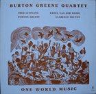 BURTON GREENE One World Music album cover