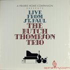 BUTCH THOMPSON Live From St. Paul album cover
