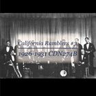 CALIFORNIA RAMBLERS California Ramblers #3 album cover