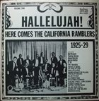 CALIFORNIA RAMBLERS Hallelujah! Here Comes The California Ramblers Vol.2 album cover