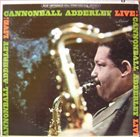 CANNONBALL ADDERLEY Live! album cover