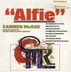 CARMEN MCRAE Alfie album cover