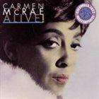 CARMEN MCRAE Alive album cover