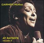 CARMEN MCRAE At Ratso's, Volume 2 album cover