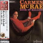 CARMEN MCRAE Book of Balads album cover