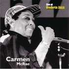 CARMEN MCRAE Live at Umbria Jazz album cover