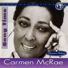CARMEN MCRAE Song Time album cover