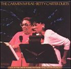 CARMEN MCRAE The Carmen McRae-Betty Carter Duets album cover