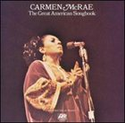 CARMEN MCRAE The Great American Songbook album cover