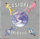 CASIOPEA World Live '88 album cover