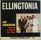 CAT ANDERSON Cat Anderson And  Ellington All Stars :  Ellingtonia album cover