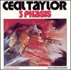 CECIL TAYLOR 3 Phasis Album Cover