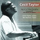 CECIL TAYLOR Algonquin album cover