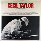 CECIL TAYLOR In Transition album cover