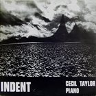 CECIL TAYLOR Indent album cover