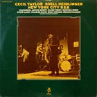 CECIL TAYLOR Cecil Taylor, Buell Neidlinger ‎: New York City R&B album cover