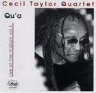 CECIL TAYLOR Qu'a: Live At The Irridium Vol.1 album cover