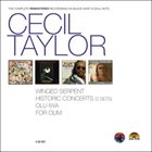 CECIL TAYLOR The Complete Rematered Recordings On Black Saint And Soul Note album cover