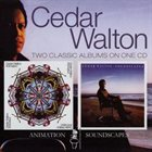 CEDAR WALTON Animation / Soundscapes album cover