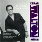 CEDAR WALTON As Long As There's Music album cover